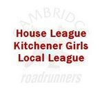 aA Kitchener Girls Local League (standings for House League)