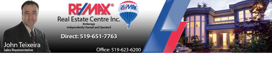John Teixeira REMAX  Real Estate Centre Inc